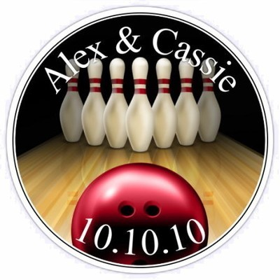 Personalized Bowling Stickers