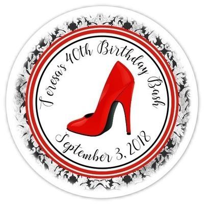 Personalized Stiletto Stickers