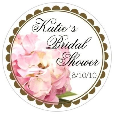 Hydrangea Floral Wedding Stickers