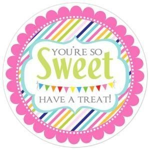 You're So Sweet Have A Treat Stickers