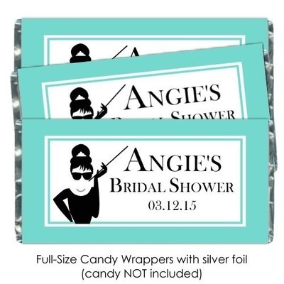 Breakfast At Tiffany's Candy Bar Wrappers