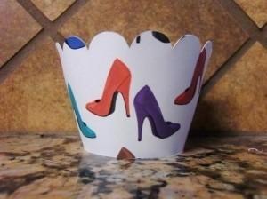 High Heel Cupcake Wrappers