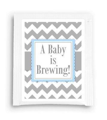 A Baby Is Brewing Tea Favor
