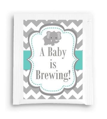 Elephant Baby Is Brewing Tea Favor