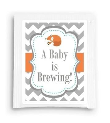 Fox Baby is Brewing Tea Favor