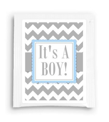 It's a Boy Baby Shower Tea Bag Favor