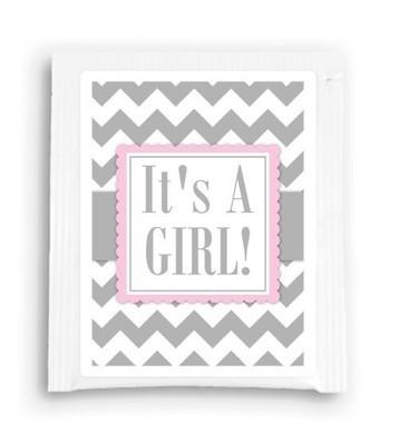 It's a Girl Baby Shower Tea Bag Favor