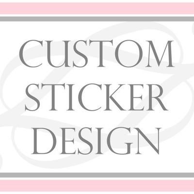 Custom STICKER DESIGN for your Business or Event