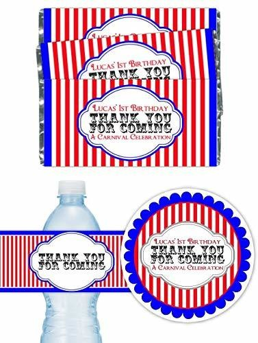 Custom Circus Birthday or Carnival Birthday Party Pack