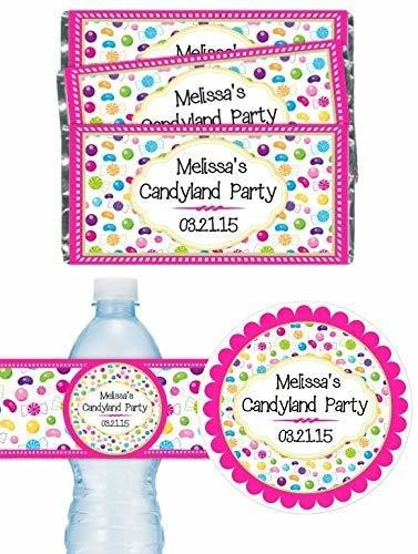 Custom Candyland Birthday Party Pack
