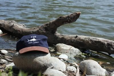 Sword Fish Dad Hat (Blue)