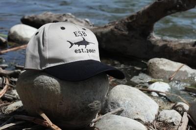 Sword Fish Dad Hat (Grey/Black)