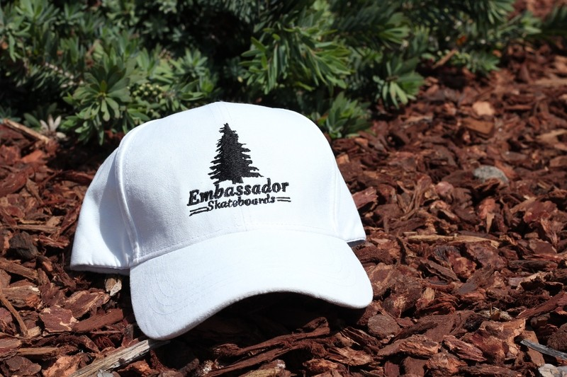 Pine Tree Dad Hat(White)