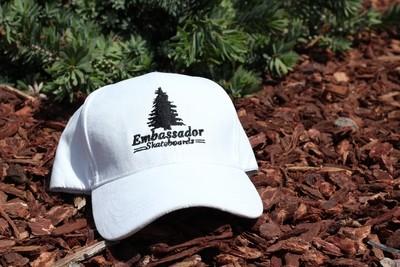 Pine Tree Dad Hat(White)