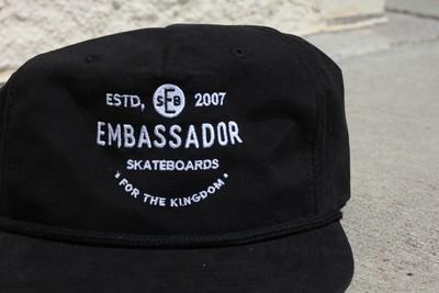 For The Kingdom Hat (Black)