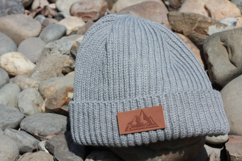 Mountain Leather Patch Beanie