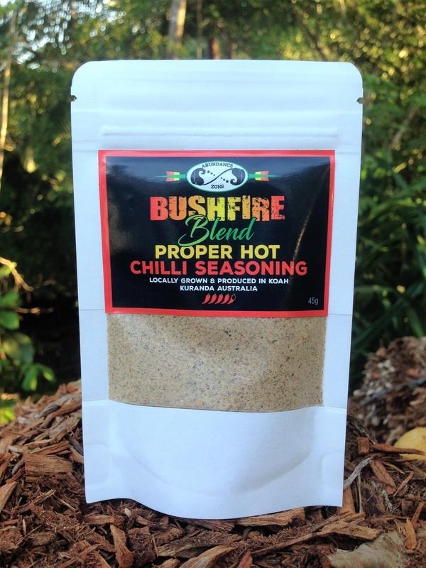 BUSHFIRE BLEND Proper Hot Chilli Seasoning