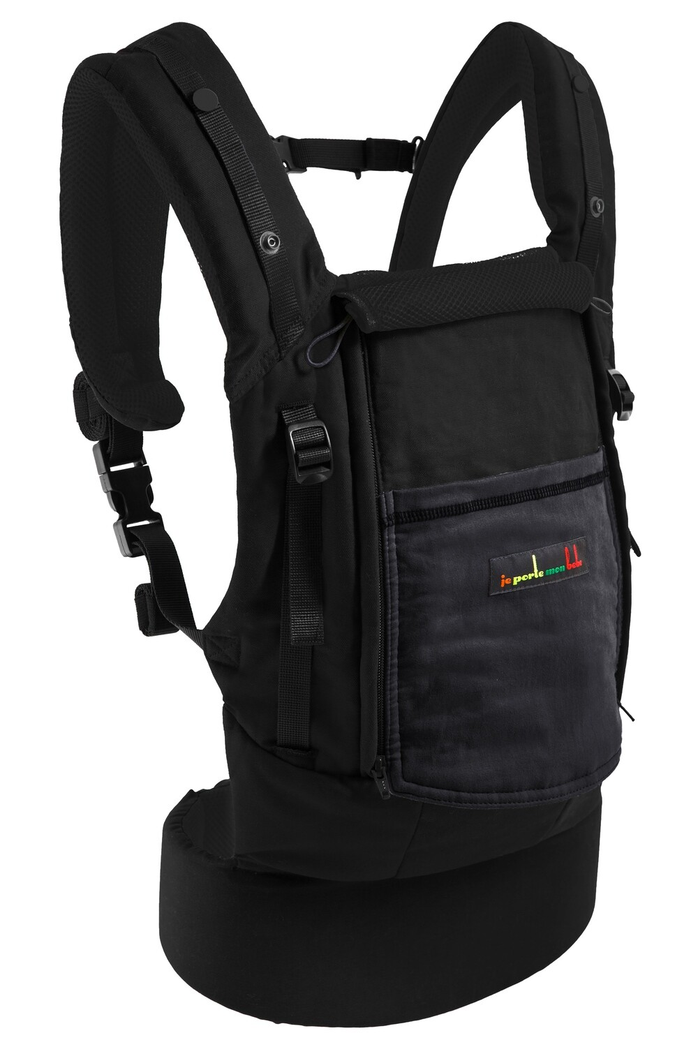 Mochila Physiocarrier + Booster  (NEGRO)