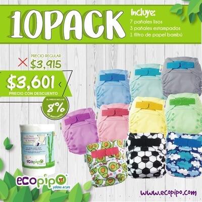 Ecopipo 10 Pack