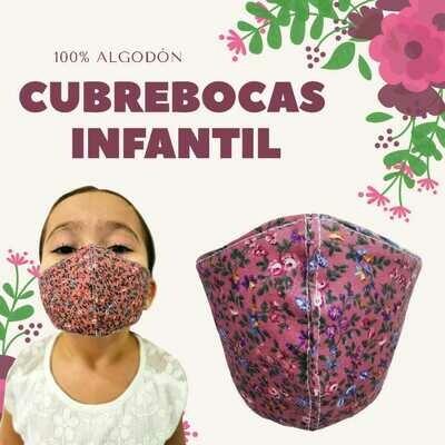 Cubrebocas Infantil
