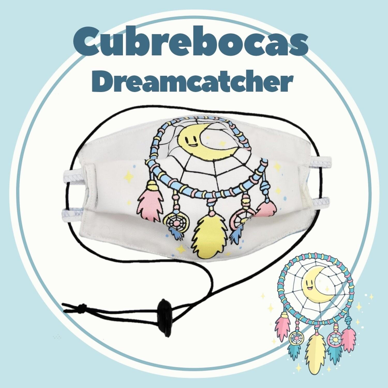 Cubrebocas ajustable & plegable Dreamcatcher