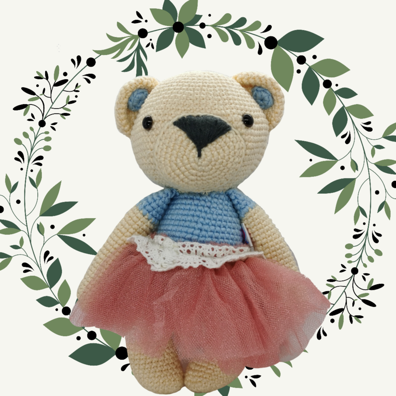 Osita Bailarina Crochet