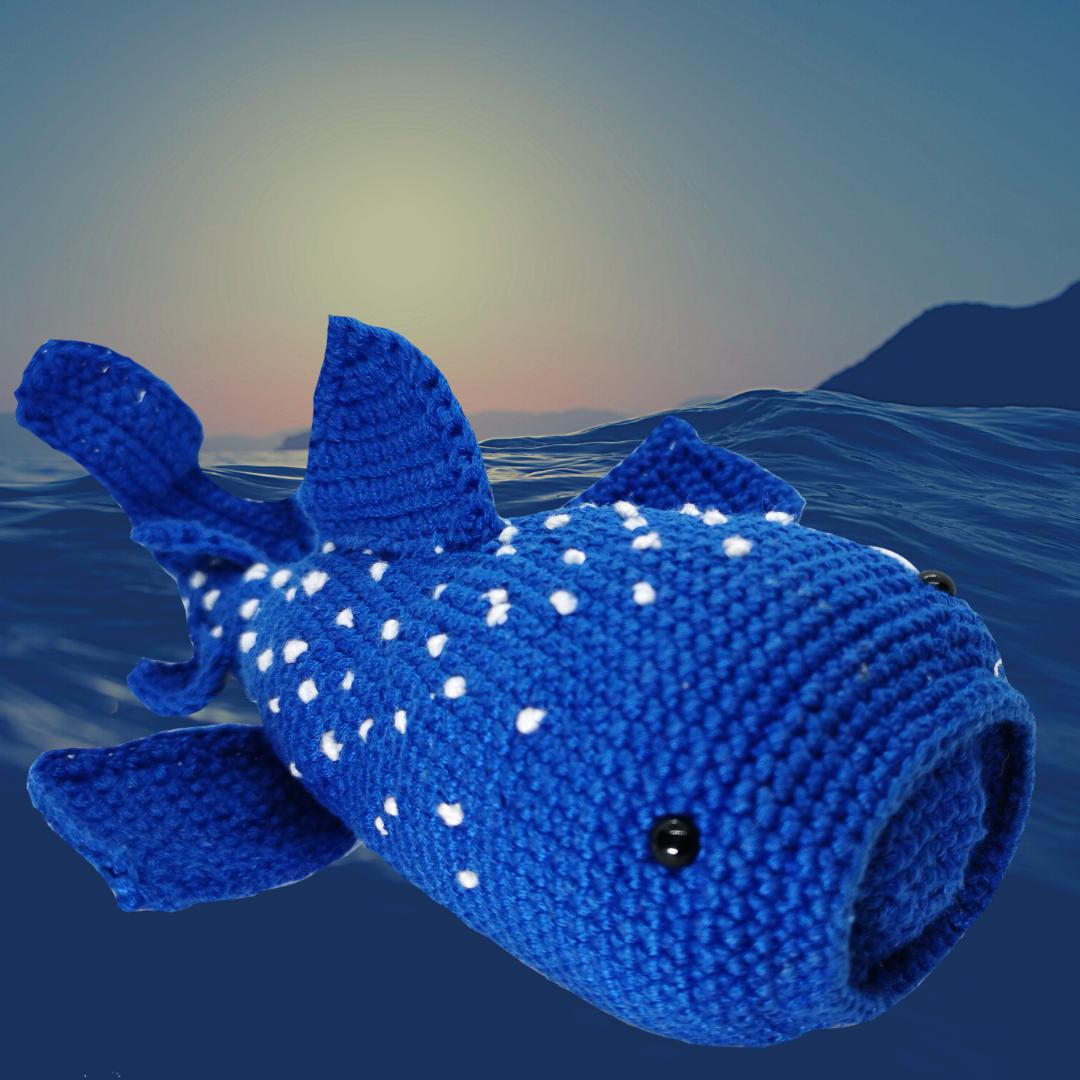 Tiburón Ballena Crochet