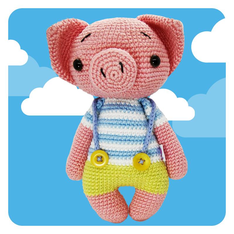 Cerdito Crochet
