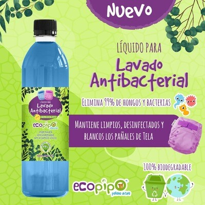 Ecopipo Lavado Antibacterial