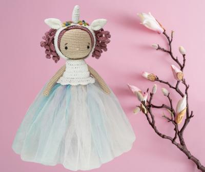 Princesa Unicornio MISi Crochet
