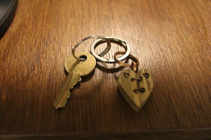 Handmade Customised Wooden Keychains