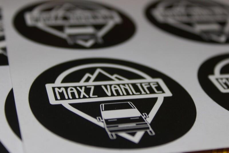 Maxz Vanlife Sticker