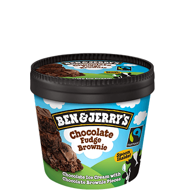 Ben & Jerry's - Chocolate Fudge Brownie (100ml)
