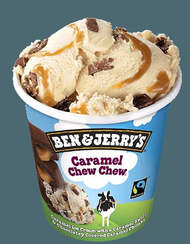 Ben & Jerry's - Caramel Chew Chew (450 ml)