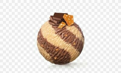 Glace Mövenpick - Chocolat & Caramel (2 boules)