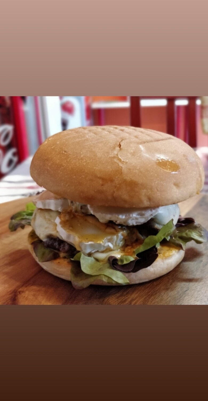 Chèvre-Miel Burger-Box