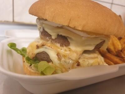 Duplex Spicy Brie Poivre - Burger Box
