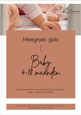 Meegroei- gids Baby 4 - 18 maanden