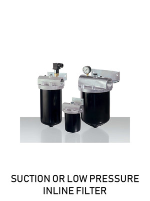 SUCTION OR LOW PRESSURE INLINE FILTER