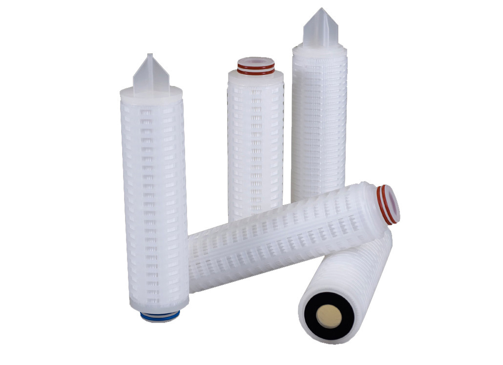 Pleat flow Filter Cartridges