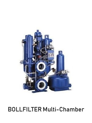 BOLLFILTER Multi-Chamber Automatic Filter