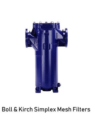 Boll & Kirch Simplex Mesh Filters