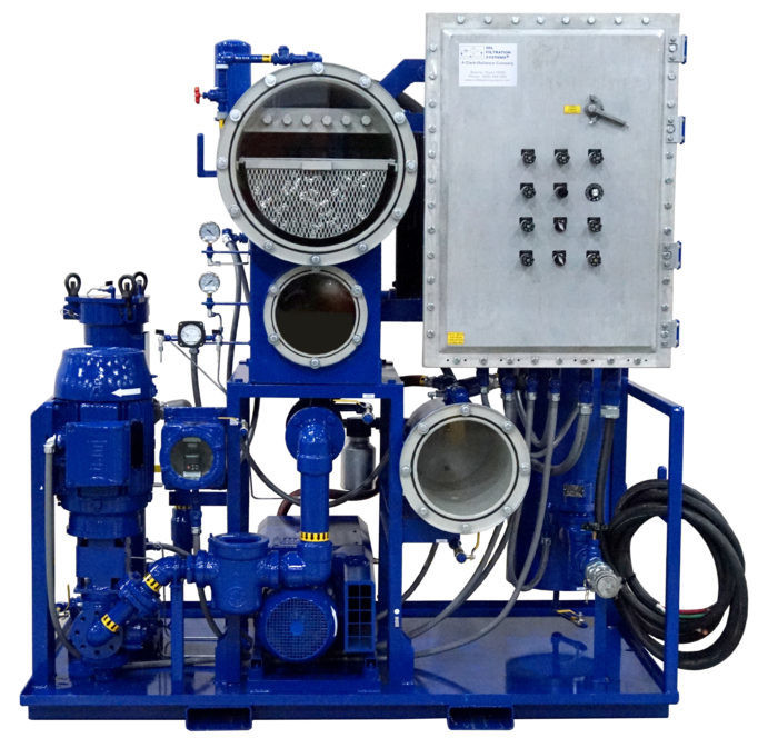 Vacuum Dehydration Oil Purification System (VDOPS)