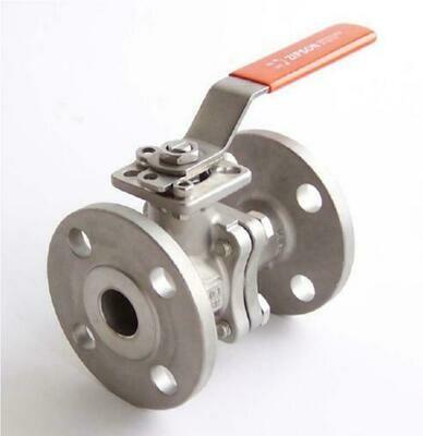 2 piece flanged ball valve 207S