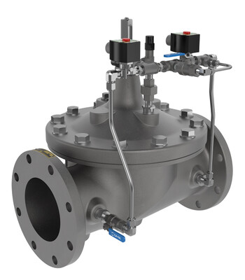 131-CP Series Electronic Interface Meter Control Valve