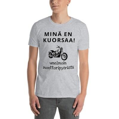 T-paita - En kuorsaa - haaveilen moottoripyörästä