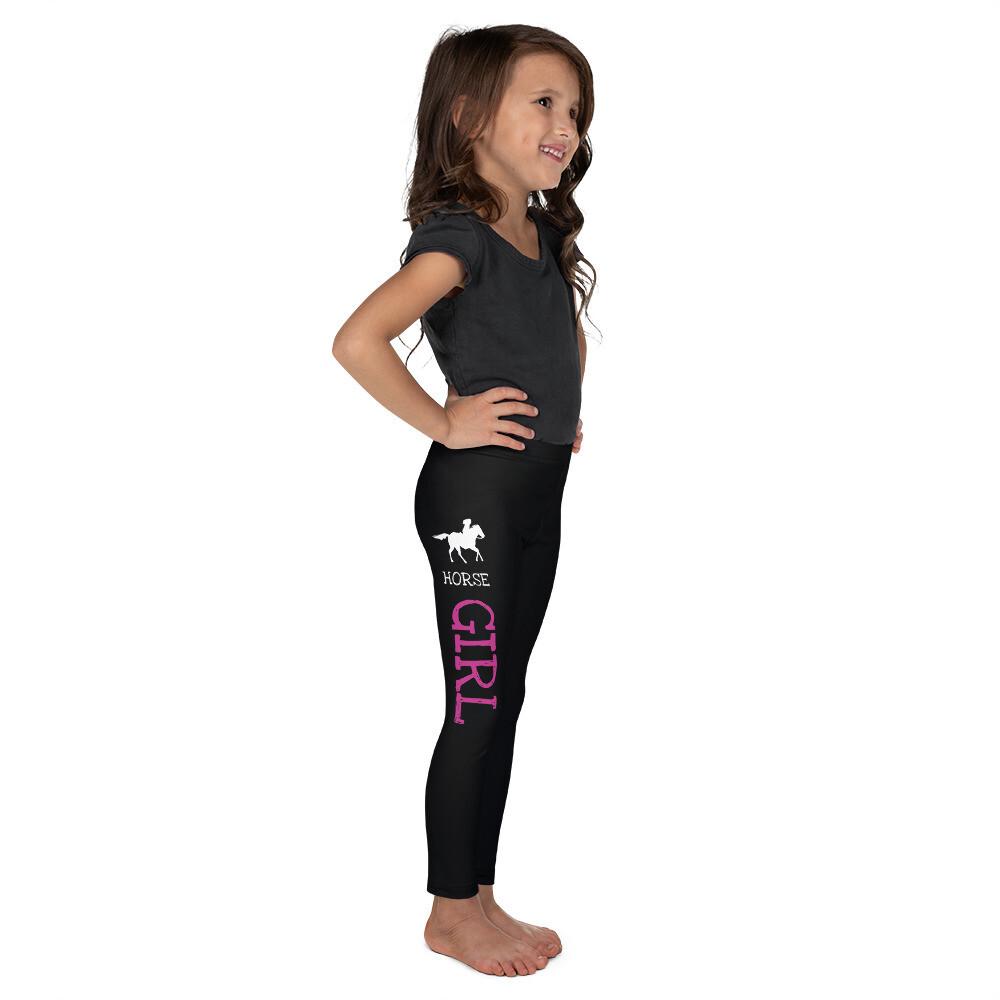 Lasten leggings - Horse girl / heppatyttö
