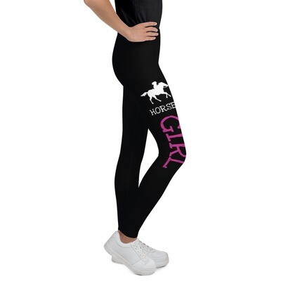 Nuorten leggings - Horse girl