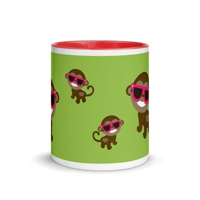 Muki - Apina aurinkolaseilla