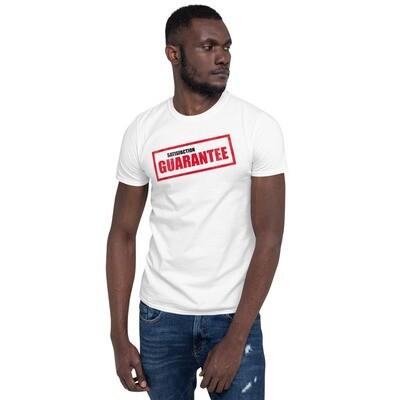 T-paita - satisfaction guarantee
